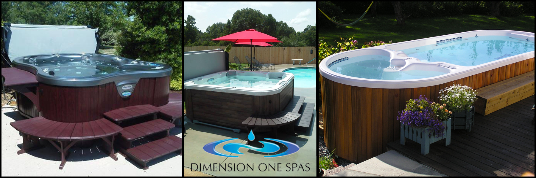 Lighthouse spas pools dimension one spa for Dimension one spas